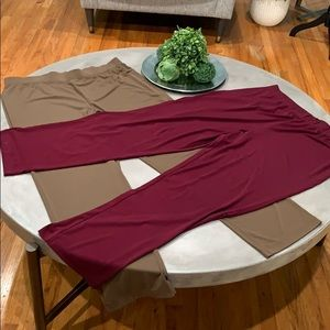 Susan Graver Essentials brown& burgundy Large used